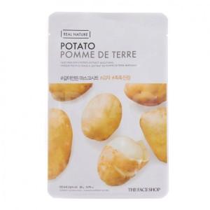 Real Nature Potato Face Mask