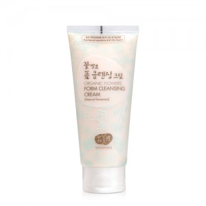 Organic Flower Foam Cleansing Cream