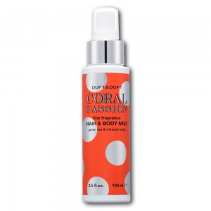 CORAL PASSION FINE FRAGRANCE  HAIR & BODY MIST