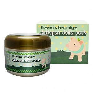 Green Piggy Collagen Jella Pack Pig Mask for Wrinkles Intense Hydration