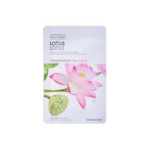 Real Nature Lotus Face Mask
