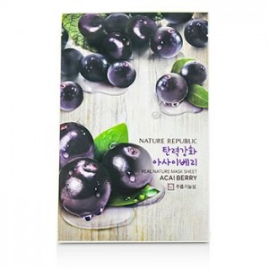 Real Nature Mask Sheet_Acai Berry