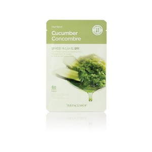 Real Nature Mask Sheet_Cucumber
