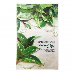 Real Nature Mask Sheet_Green Tea