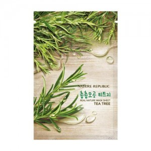 Real Nature Mask Sheet_Tea Tree